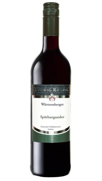 6x Württemberger Spätburgunder Auslese 0,75l