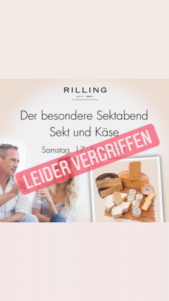 Online Sekt und Käse Gesamtpaket