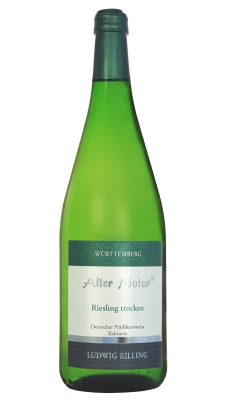 6x Alter Notar - Riesling 1l Wein trocken